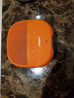Bose sound link micro bluetooth speaker for Sale in Lincoln, CA