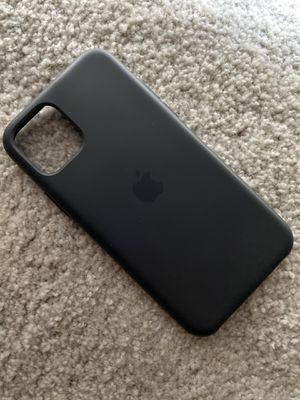 iPhone 11 Pro Black Silicone Case for Sale in Aiea, HI