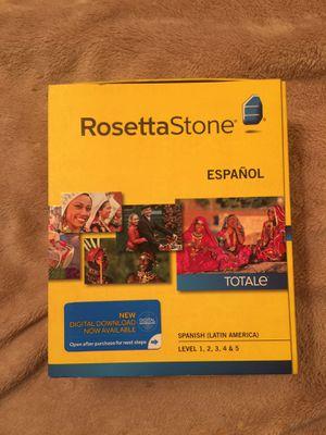 Rosetta Stone Spanish ( Latin American) for Sale in Irving, TX