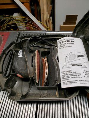 Craftsman brand industrial corded drill, mouse palm sander/polisher for Sale in West Jordan, UT