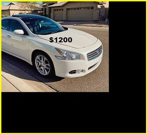 Price$1200 Nissan Maxima for Sale in Charleston, WV