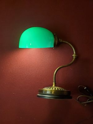 Antique banker's lamp for Sale in Cooper City, FL