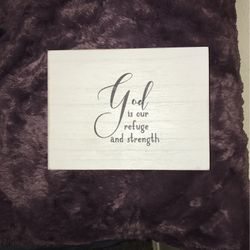 Home Decor Quote Picture Brand New From Ross for Sale in Mansfield,  TX