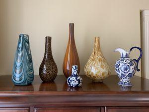Vases, decorative glass vases for Sale in Sammamish, WA