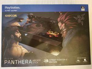 Razer Panthera Arcade Stick Street Fighter V Edition for Sale in Las Vegas, NV