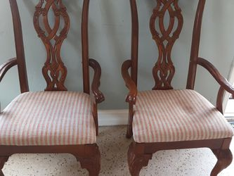 A Set Of Two Wooden Chairs Antique for Sale in Miami,  FL