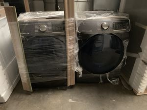 Samsung Washer and Dryer Outlet *OVER 25% OFF RETAIL* NO COSMETIC DAMAGE for Sale in Rancho Cucamonga, CA