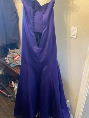 Alfred Angelo purple storm dress for Sale in Houston, TX