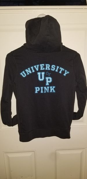 VICTORIA Secrets Pink Size Small Zip up Hoodie Excellent Condition for Sale in Taylor, MI