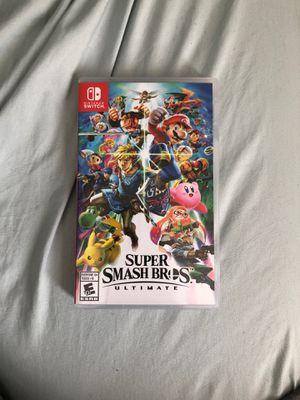 Smash bro ultimate switch case for Sale in Atlanta, GA