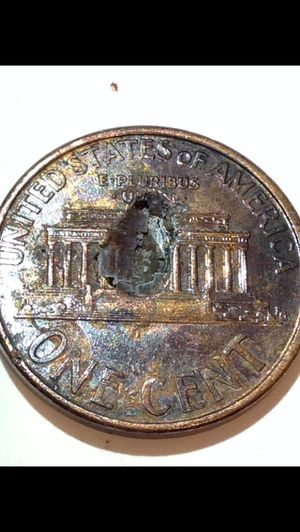 Massive Defective Planchet Error 1993 Penny- Huge Cud Indent Defect in Center of Coin for Sale in Chantilly, VA