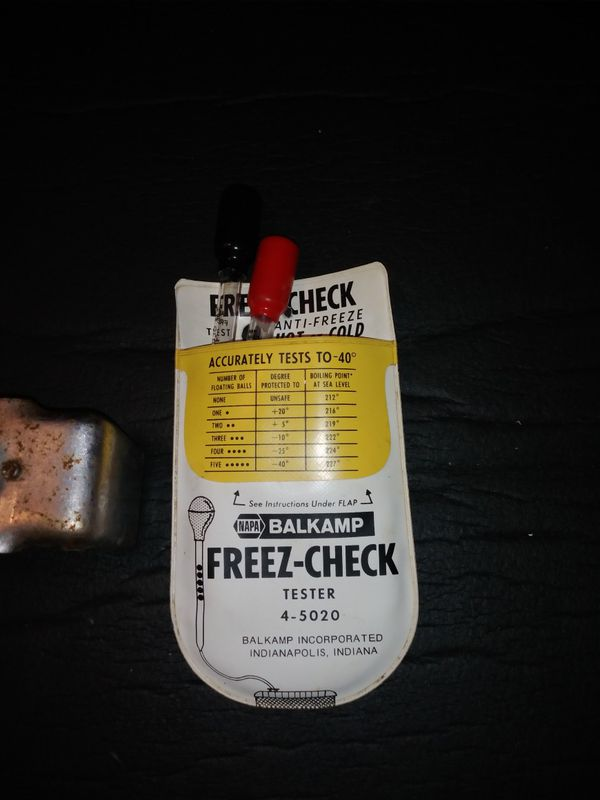 Vintage Proto oil filter Wrench-Napa Freez-CheckTester