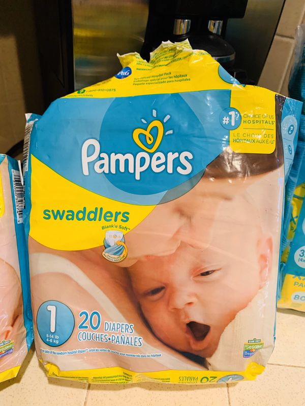 Pampers Newborn and sensitive wipes
