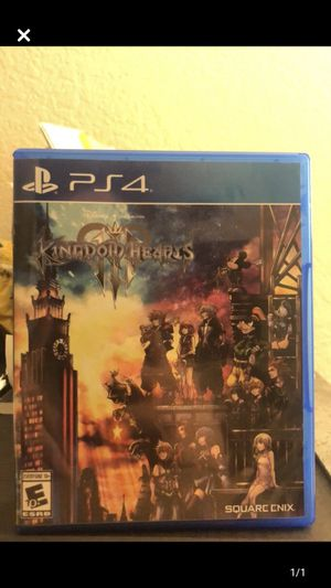 Kingdom Hearts 3 PS4 Game for Sale in Los Angeles, CA