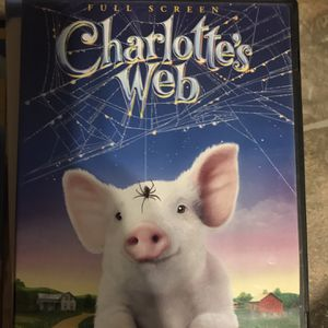 Charlottes Web Full Screen Dvd Movie for Sale in Elma, WA