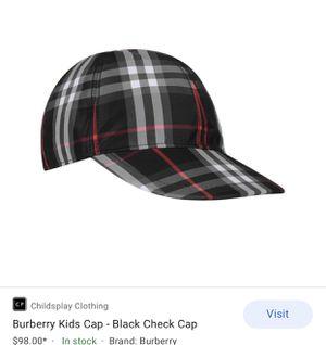 burberry cap for Sale in Buena Park, CA