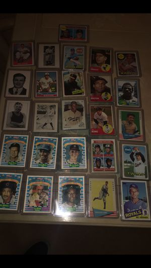 Old vintage baseball cards Mint condition for Sale in Troy, MI