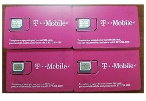 T-Mobile nano SIM cards & 5 at&t SIM cards for Sale for sale  Charlotte, NC
