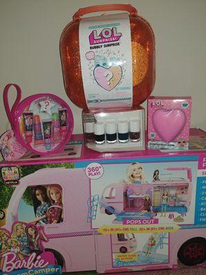 Barbie Camper & LOL Surprise for Sale in Santa Ana, CA