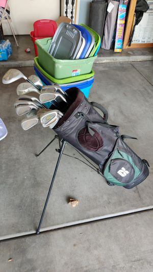 Pro select precision golf bag with clubs for Sale in Glendale, AZ