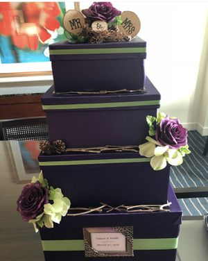 Decorative gift and wedding card boxes for Sale in Arlington, VA
