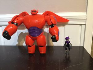 Big Hero 6 Flying Baymax with Hiro action figure. for Sale in McLean, VA