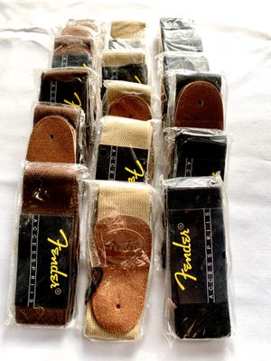 10 pack - guitar straps for Sale in Hillsboro, OR