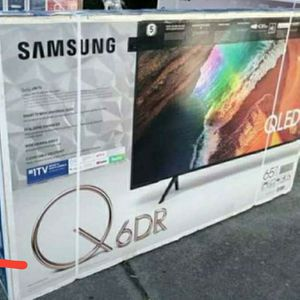 "65"" SAMSUNG QLED6 Smart TV UHD HDR for Sale in Las Vegas, NV"