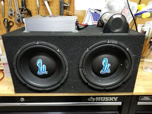 Subs and amp for Sale in Martinsburg, WV
