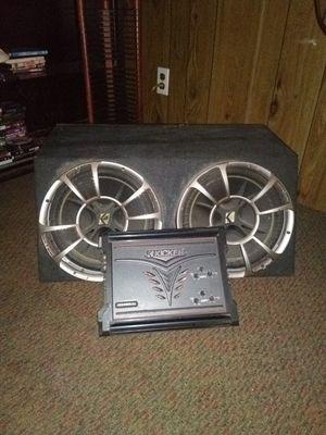 "Kicker Comp car stereo system 12"" for Sale in Mount Juliet, TN"