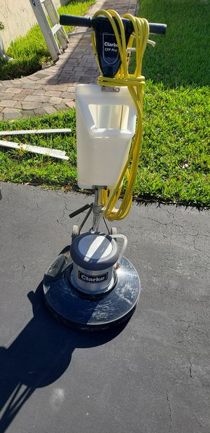 Floor scrubber and low speed floor buffer for Sale in Fort Lauderdale, FL