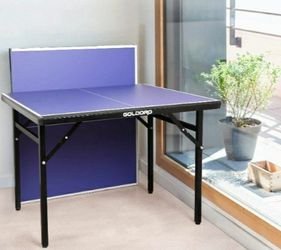 BLUE COUNTER TOP FOLDABLE TABLE GOOD FOR SNACKS,GAMES, OR ANYTHJNG YOU LIKE BRAND NEW for Sale in Santa Ana,  CA