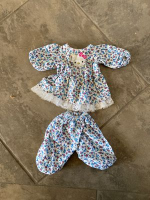 Hello Kitty doll pajama set for Sale in Gilbert, AZ