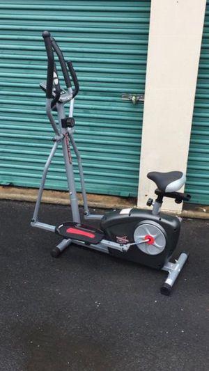 Dual trainer elliptical and bike 2 in 1 for Sale in Atlanta, GA