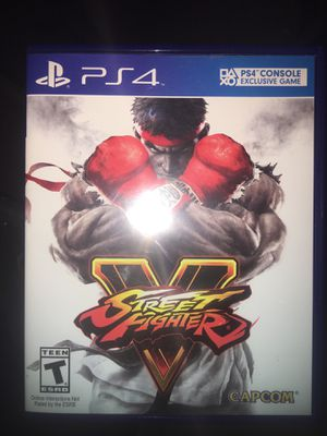 Street Fighter V for Sale in Los Angeles, CA