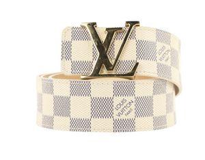 Gently Used LV Damier Azur belt for Sale in Duluth, GA