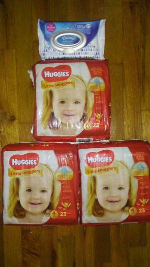 Huggies diapers sz 4 for Sale in Warren, MI