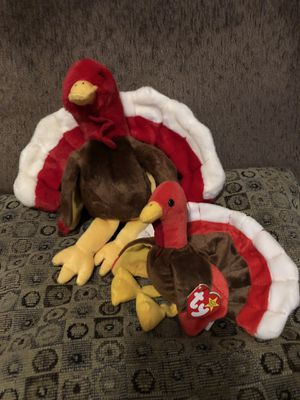 Beanie buddy & baby gobbles the thanksgiving turkey for Sale in Las Vegas, NV