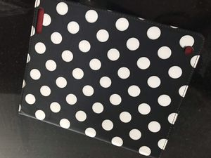 NWT Chico's black & white polka dot tablet IPad case. Retail$39! for Sale in Lake Worth, FL