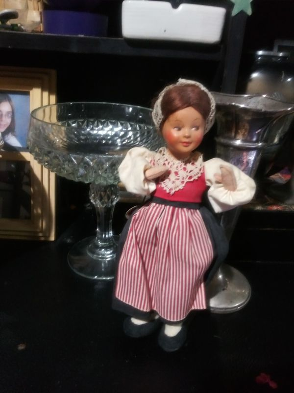 Vintage baits doll
