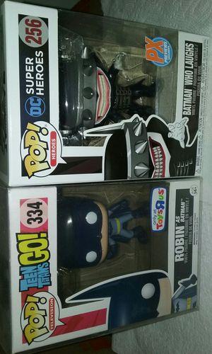 robin as batman toys r us exclusive/batman who laughs px previews exclusive (read description) for Sale in Los Angeles, CA