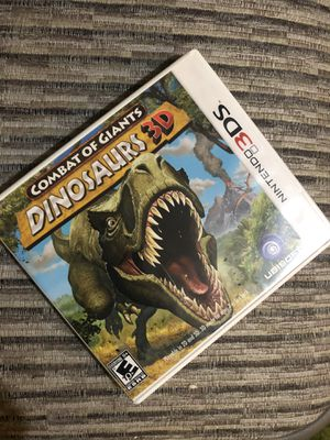 Combat of Giant Dinosaurs 3D- Nintendo 3DS games for Sale in CA, US