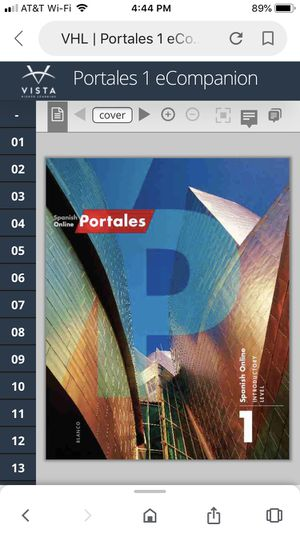 Portales Spanish 1 and 2 isbn#9781680041958 for Sale in Berlin, NJ