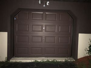 Garage door insulated and painted for Sale in Randolph, MA