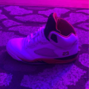 Jordan 5 Size 9 With box Can also make trades for Sale in Reston, VA