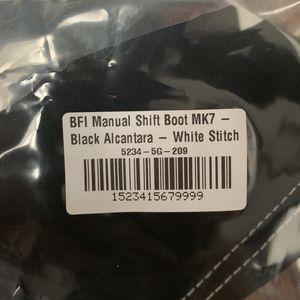 Brand New Alcantera Shift Boot Mk7 Gti/Golf R for Sale in Algonquin, IL