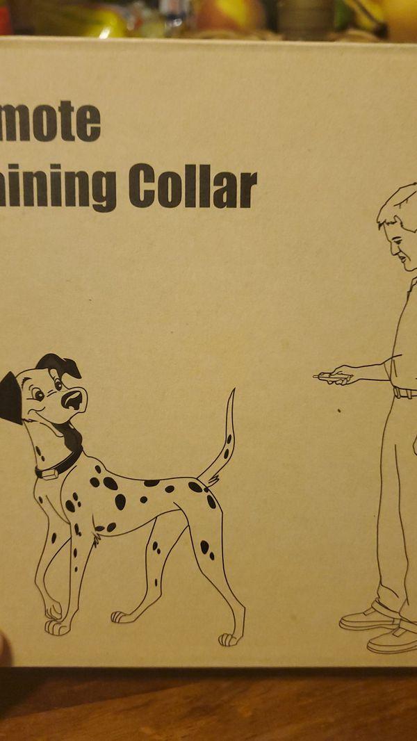 Remote Training Collar
