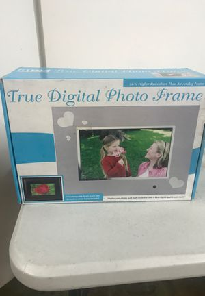 "New ADS 7010PF True Digital Photo Frame 7"" 3 in 1 Function Uses Memory Card LCD for Sale in Huntington Beach, CA"