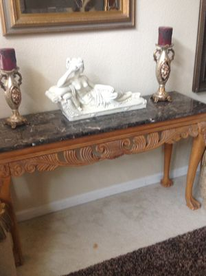 Marble Console Table for Sale in Antioch, CA