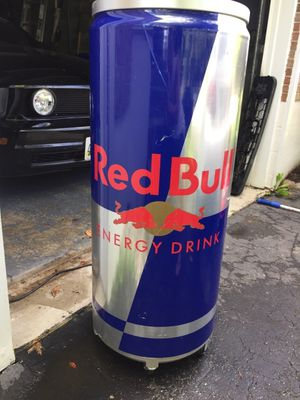 Red bull energy drink electric big cooler for Sale in New Market, MD